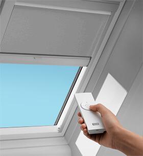 Velux blinds hartlepool velux window blinds hartlepool for Velux skylight remote control